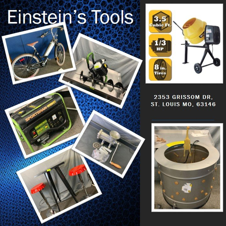 Einstein's Tools -- FALL STOCK UP