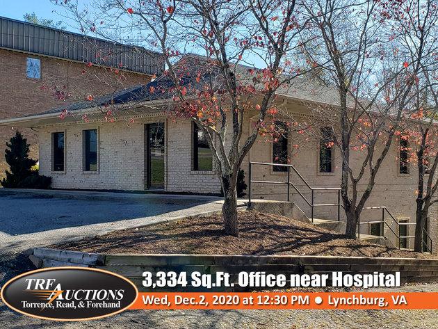 3,334 Sq.Ft. Office Building near Centra Hospital