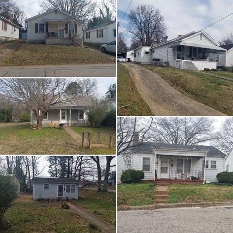 6 Properties in Danville, VA