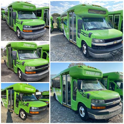 City of Winston Salem Shuttle Bus Online Only Auction