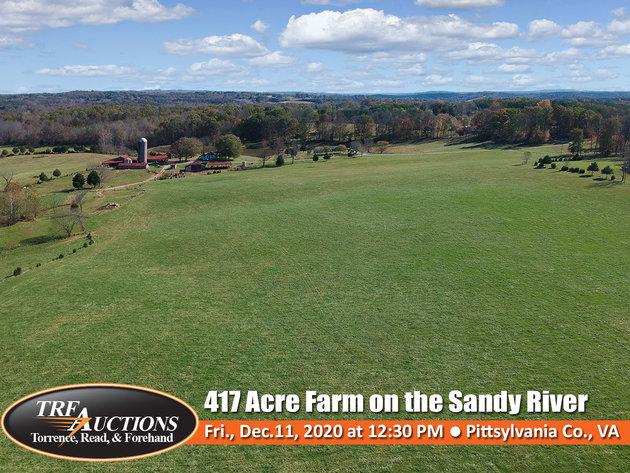 Beautiful 417 Acre Farm on the Sandy River