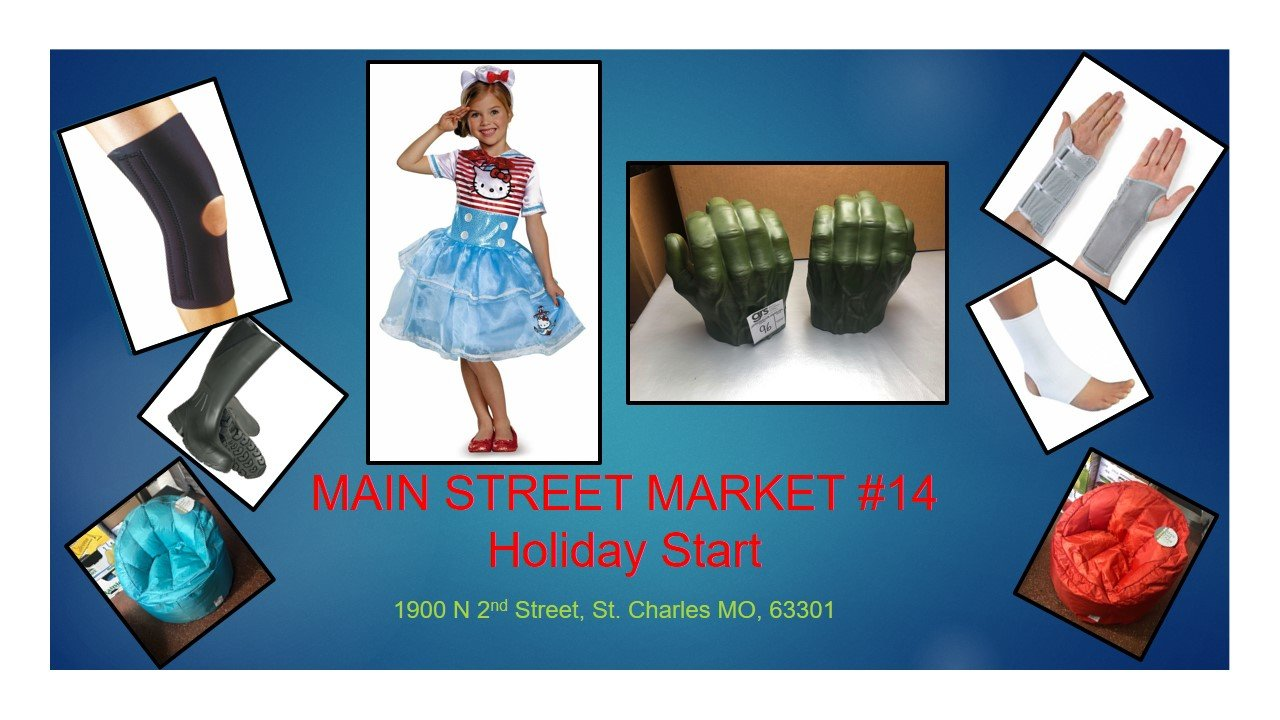 Main Street Market #14 Holiday Start