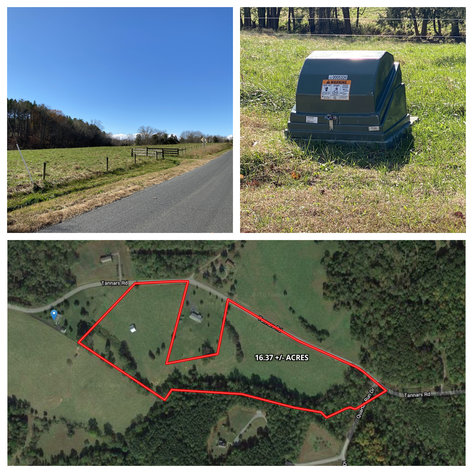 16.37 +/- Acres w/Creek on Property & 2 large areas of ingress/egress on Tanners Rd. in Madison County, VA--SELLING to the HIGHEST BIDDER!!