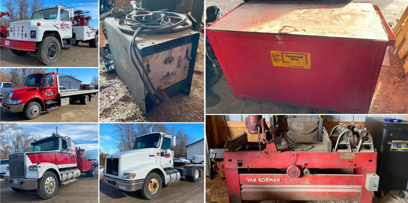 (7) Trucks: Discontinue Towing Operation to Focus on Repair Shop