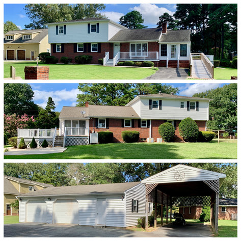 5 BR/2 BA Home w/Extra Lot, Rappahannock River View & Access**Only 1 Block Off the River in Tappahannock, VA