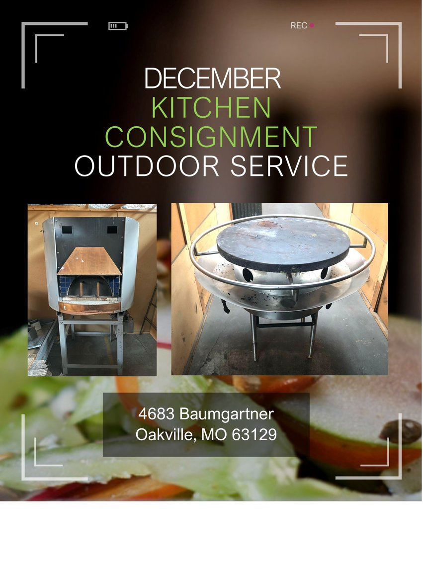 December Kitchen Consignment - Outdoor Service
