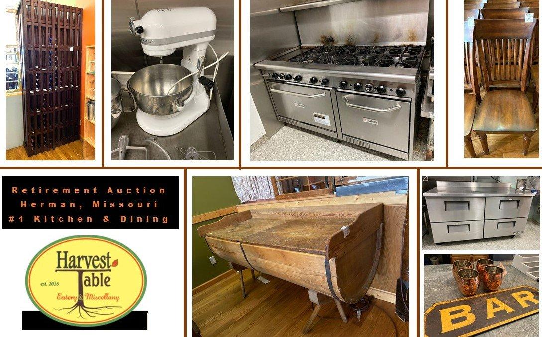 Harvest Eatery Kitchen Equipment Retirement Auction #1