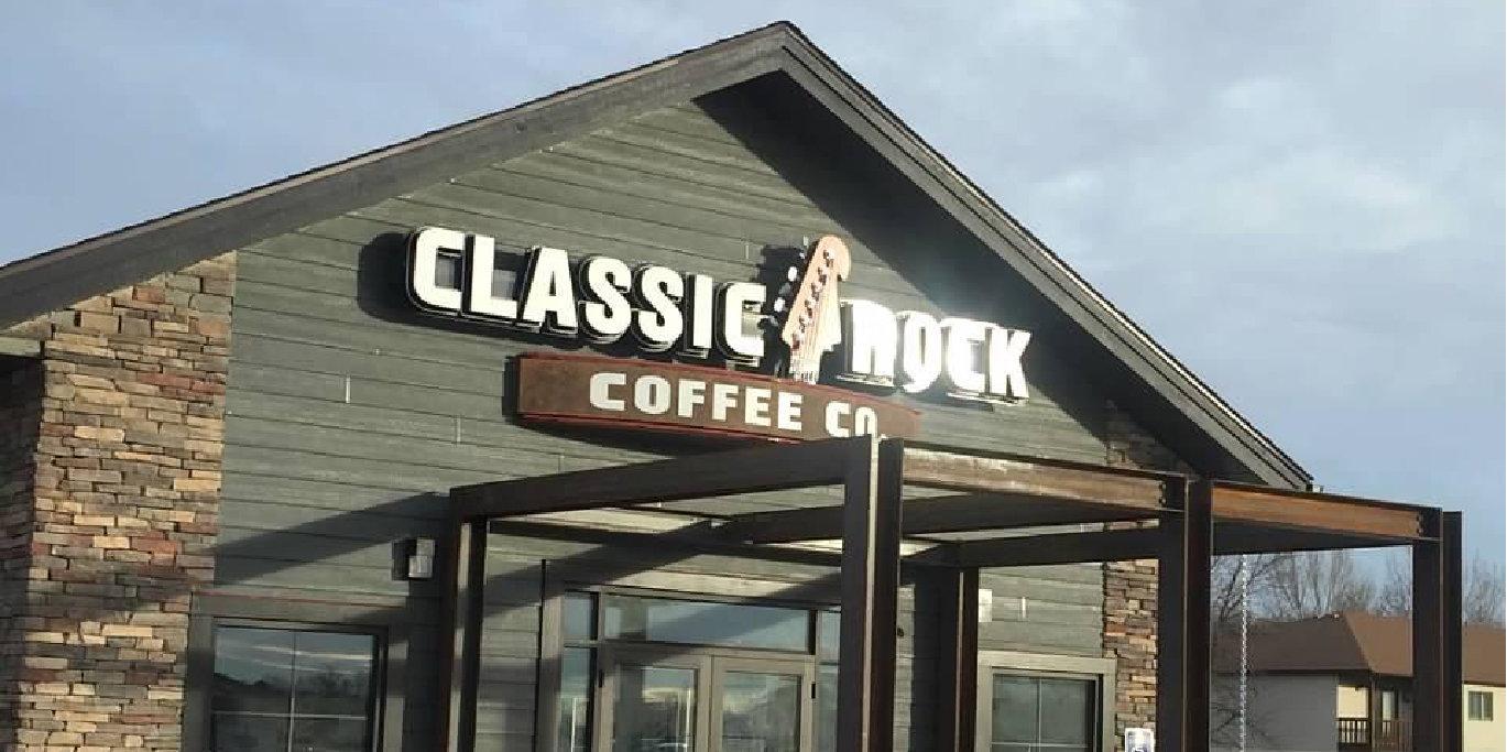 Classic Rock Coffee Shop Auction