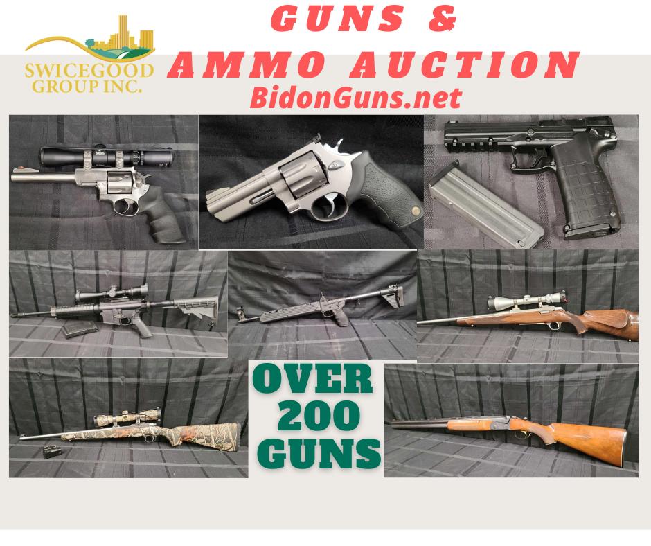 Huge Guns & Ammo Auction