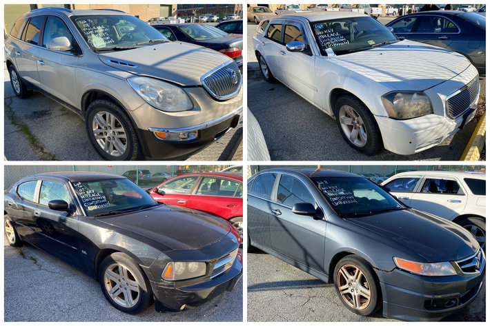 Greensboro Dept. of Transportation Seized Vehicles Auction - Online Only