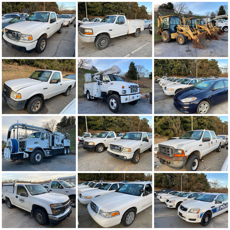 City of Winston Salem Rolling Stock Online Only Auction
