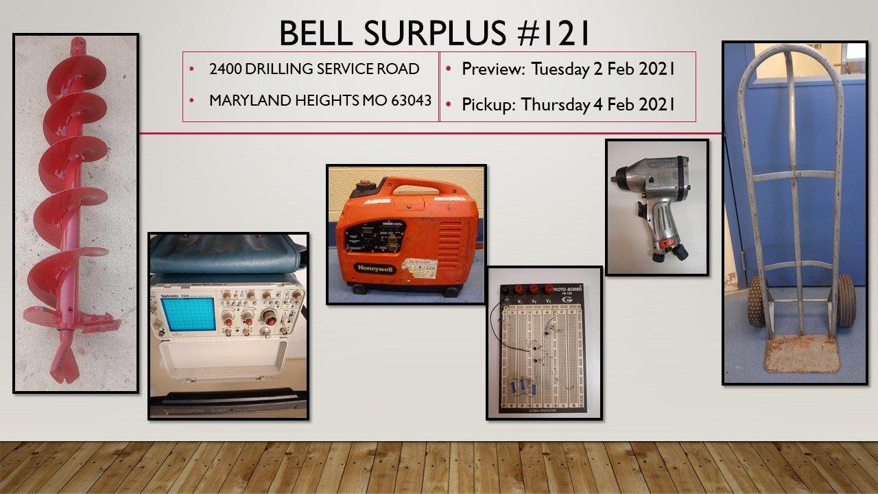 Bell Surplus #121