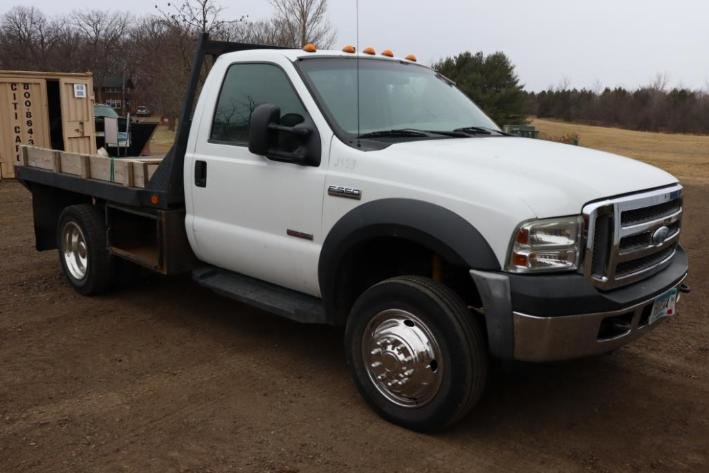 2007 Ford F-550 XLT Super Duty Flatbed