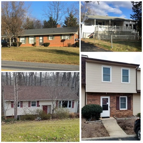4 Properties in Lynchburg, VA