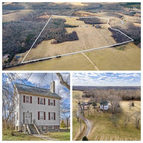 109 +/- Acres w/3 BR/2 BA  Farm House, Outbuildings & Grapevines/Vineyard--Essex County, VA