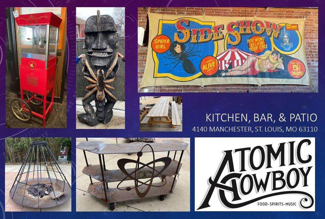 Atomic Cowboy - Auction One - Kitchen, Bar & Patior