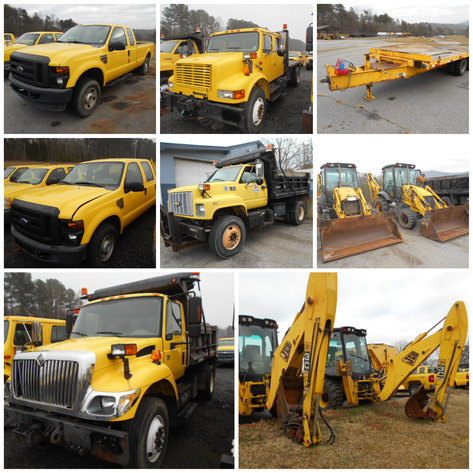 NCDOT Surplus Equipment Auction
