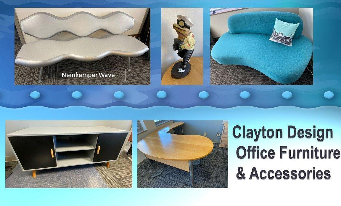 Clayton Designer Office Furniture & Accessories