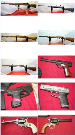 PRIVATE OWNER GUN & AMMO COLLECTION - VERY LARGE & UNBELIEVABLE DO-BID.COM ONLINE AUCTION