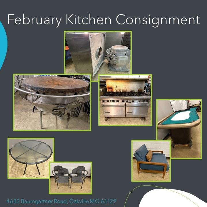 February Kitchen Consignment