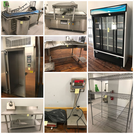 USDA Meat Processing Equipment Auction