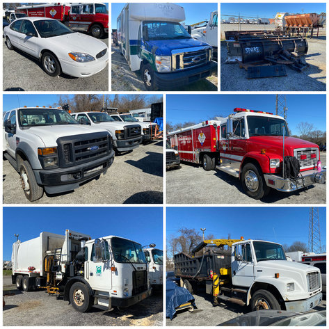 City of Greensboro Rolling Stock Online Only Auction