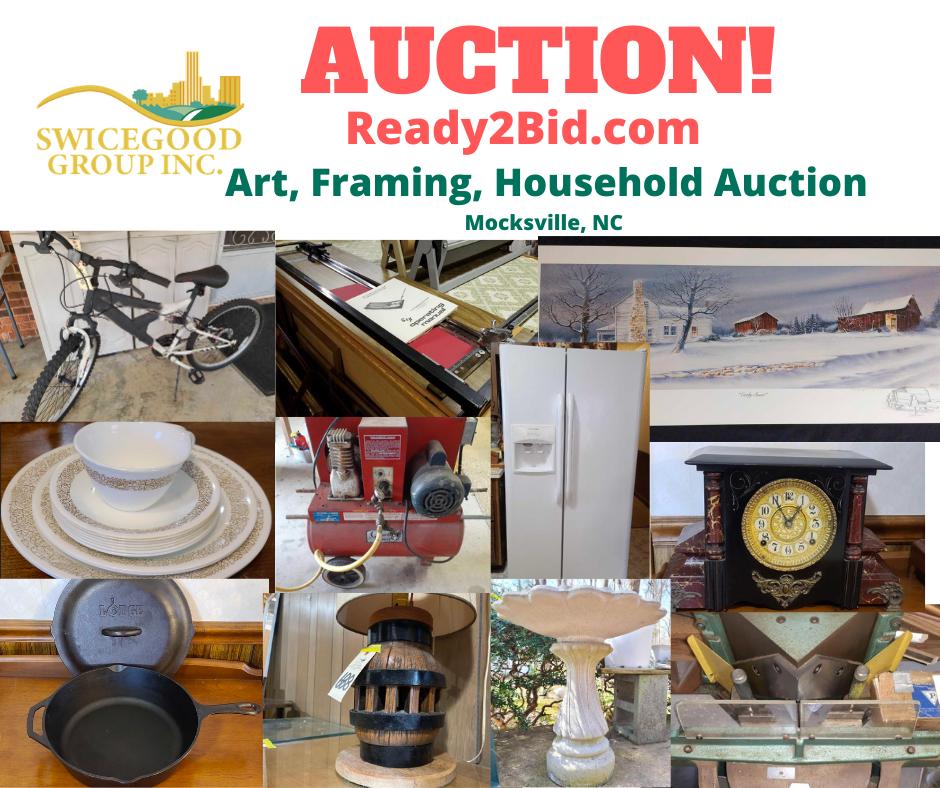 Art, Framing & Household Auction
