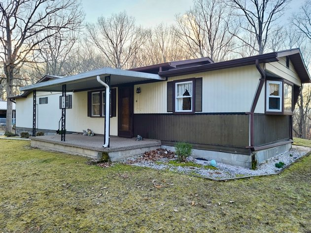 2 BR/2 BA Mobile Home on Permanent Foundation on .77 +/- acres in Mineral County, WV