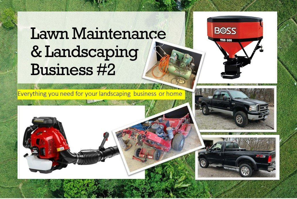Lawn Maintenance & Landscaping Business #2