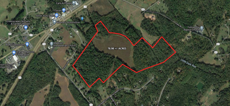 78.9 +/- Acres of Land in Madison County, VA--SELLING to the HIGHEST BIDDER!!