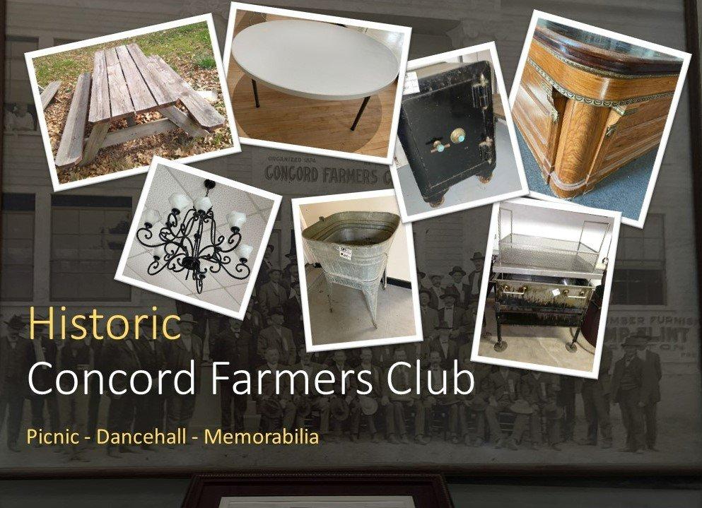 Historic Concord Farmers Inn Dance Hall & Picnic