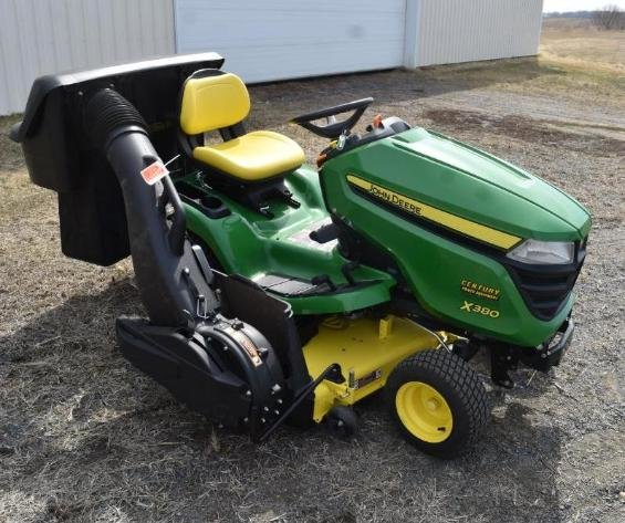 (3) John Deere & (2) Gravely Lawn Mowers