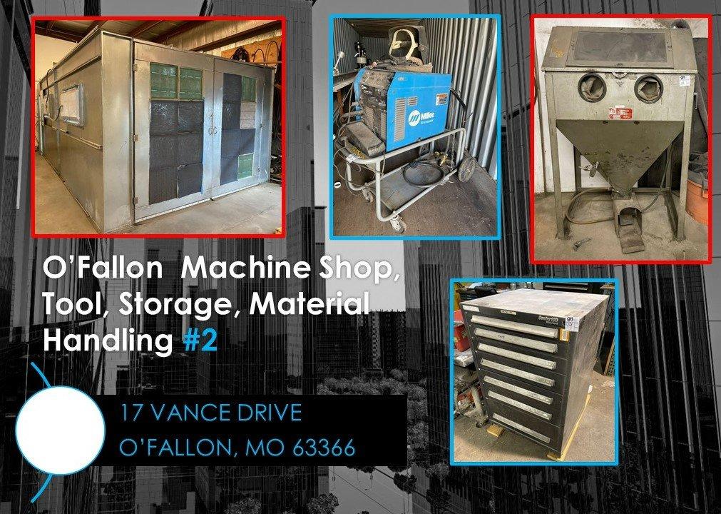 O'Fallon Machine Shop, Tool, Storage, Material Handling #2
