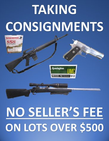 Firearms & Sporting Goods - Consign Today!!