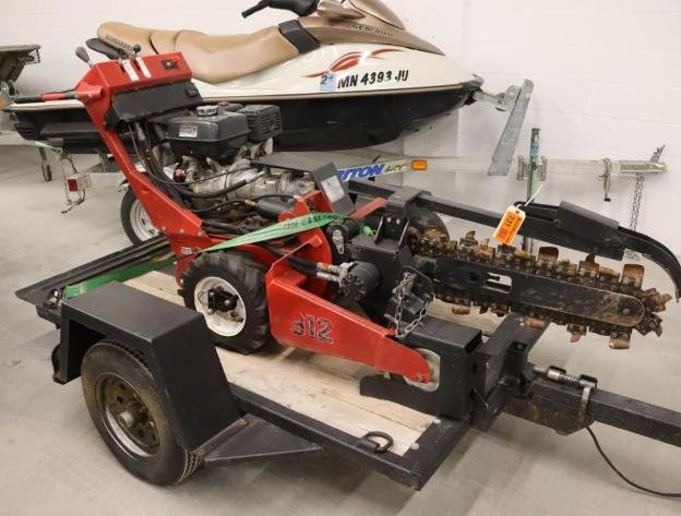 Trenchers, Vehicles, Insulation Blowers, Lawn Mower, Tractor, Shop Equipment