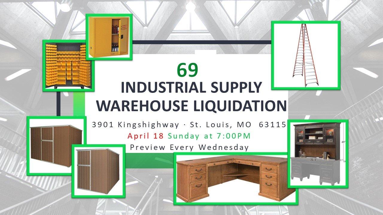 Industrial Supply Warehouse Liquidation #69