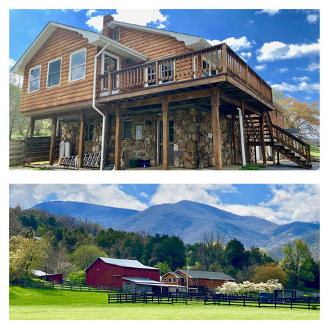 3 BR/4 BA Home w/Barn, Shop, Ponds, Pool, Fencing & More on 70 +/- Acres w/Amazing Mountain Views--Luray, VA