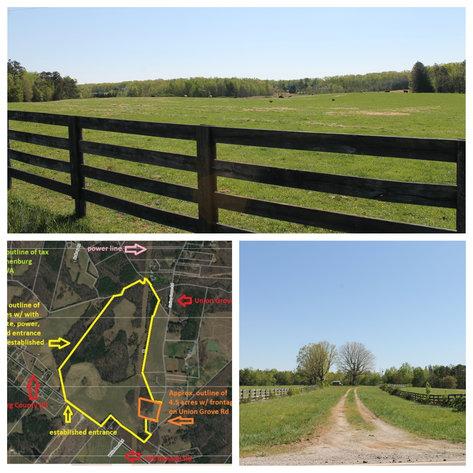 118 +/- Acres of Timber & Fenced Pasture Land--Lunenburg County, VA