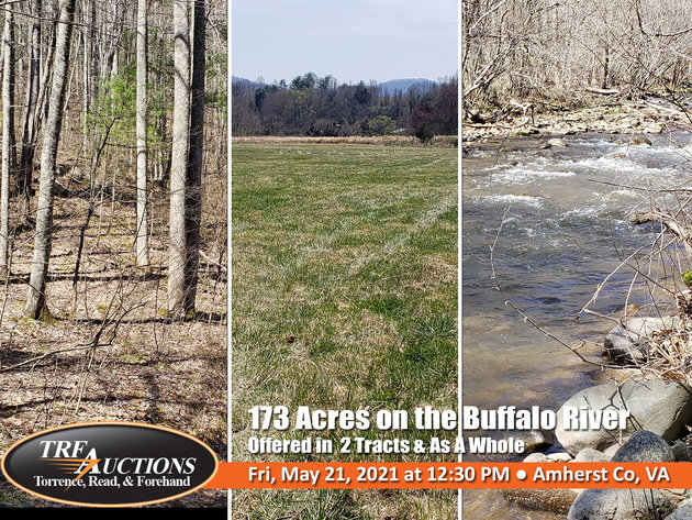 Beautiful 173 Acres on the Buffalo River