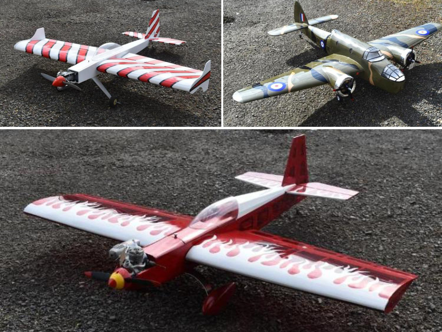 (7) RC Airplanes