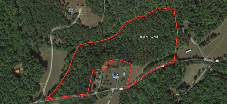 18.5 +/-  Wooded Acres in Nelson County, VA