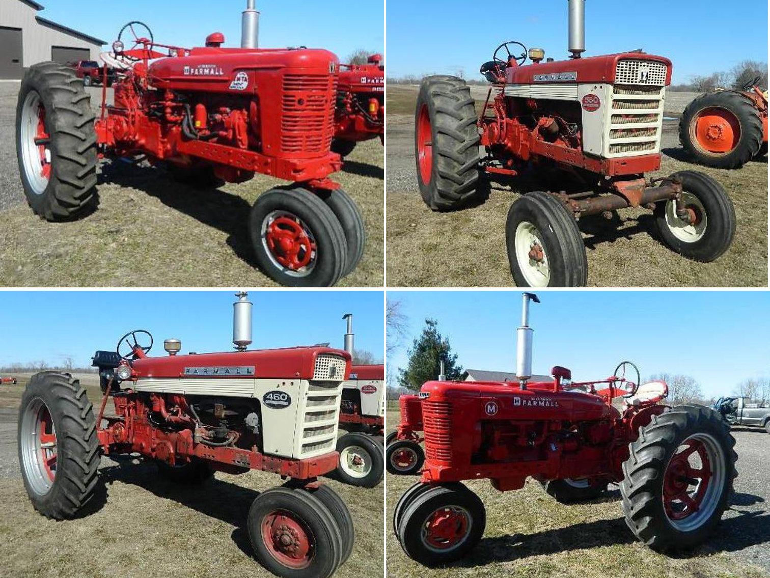 Farmall & Case Collector Tractors, Trucks, Mowers and Accessories