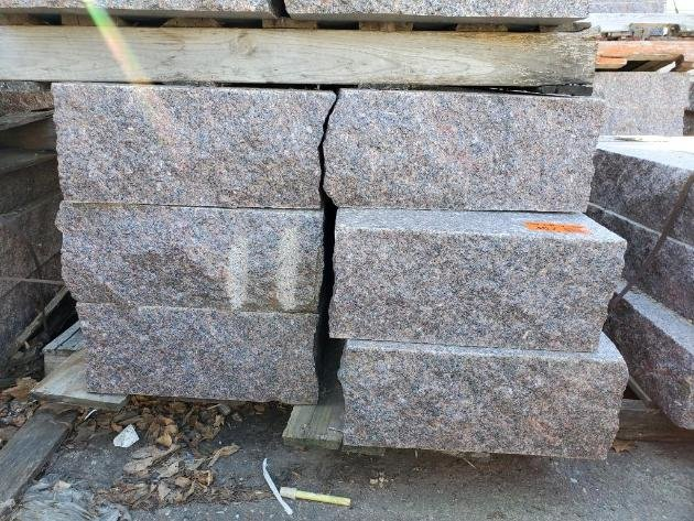 Landscape Surplus Materials: Natural Stone, Pavers, Block, Granite Steps and More!
