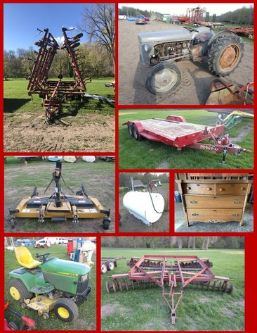 Annual Spring Gaslite Auction- Live!