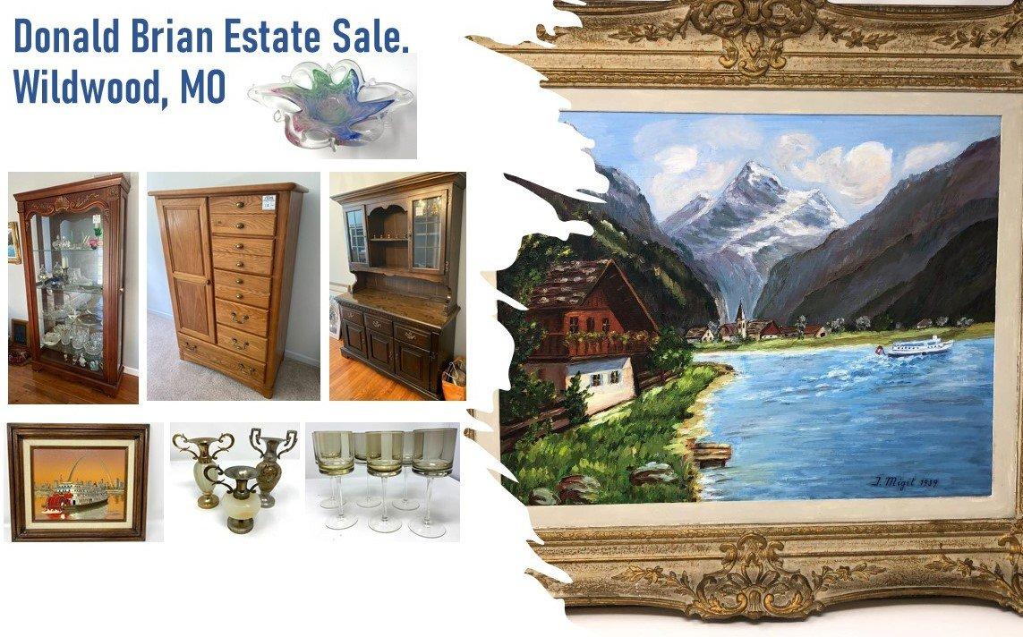 Donald Brian Estate Sale