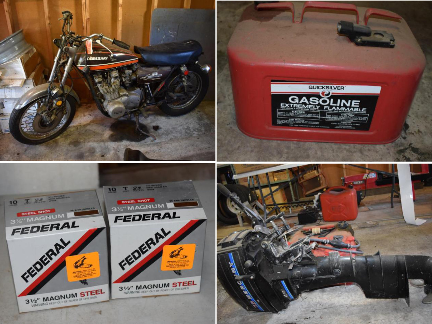 Downsizing Phase 2: Ammo, Machinist Tools, Fishing & Camping Gear