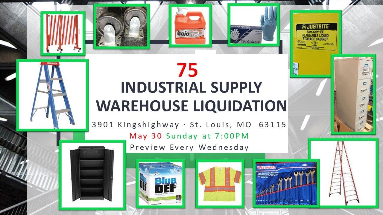 Industrial Supply Warehouse Liquidation #75