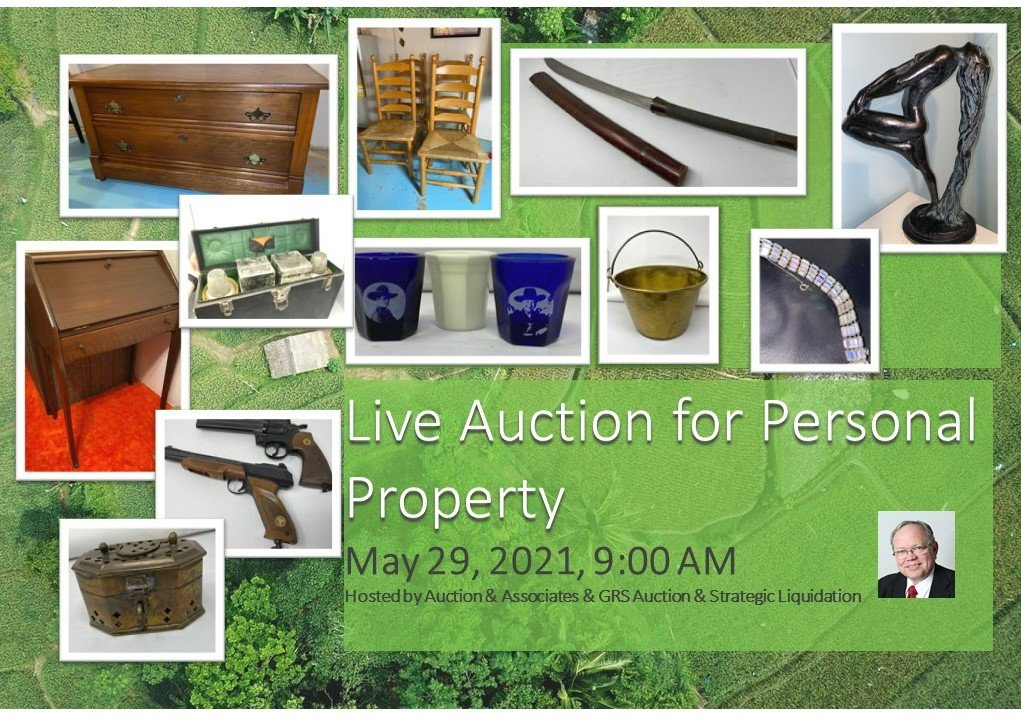 Kayser Estate Auction - This Saturday