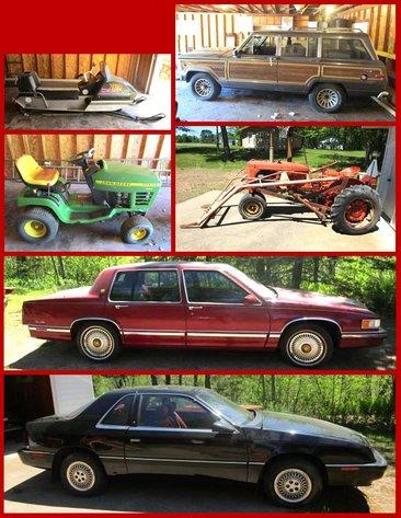 Lutz Estate Vehicles and Lawn & Garden