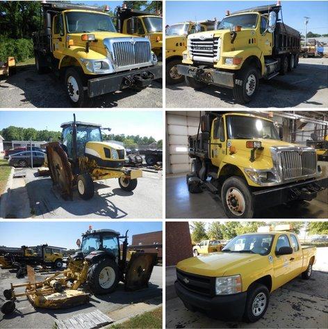NCDOT Surplus Equipment Auction
